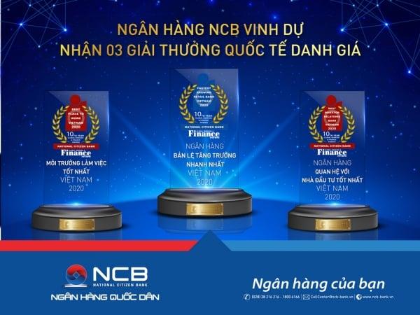 NCB giải thưởng