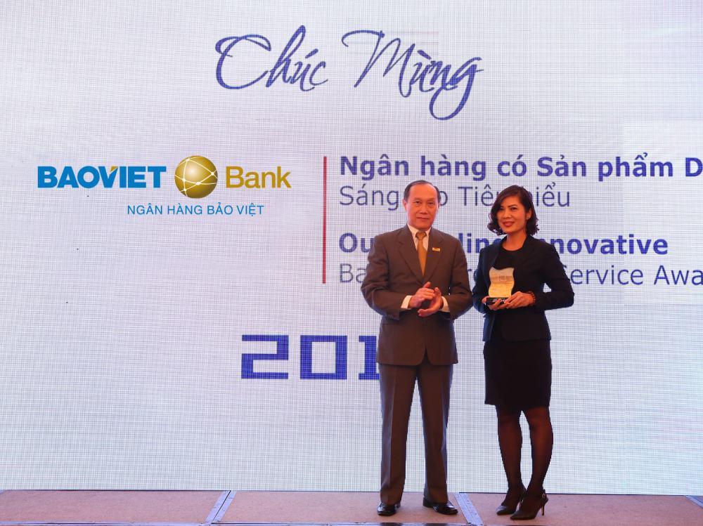 BAOVIET BANK giải thưởng
