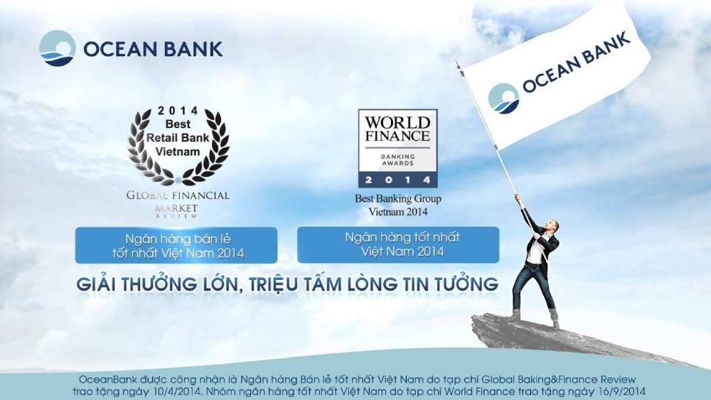 oceanbank giải thưởng