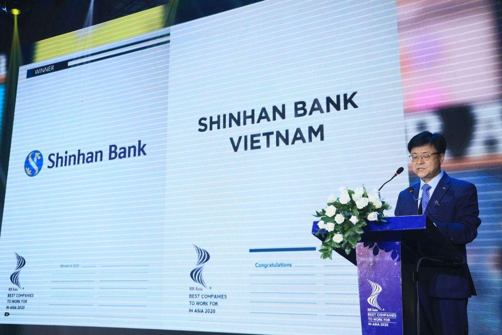 shinhan bank giải thưởng