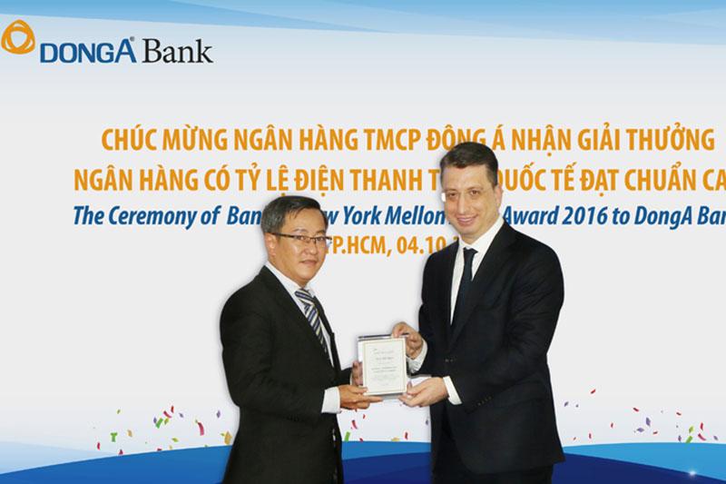 DongA Bank nhận nhiều giải thưởng
