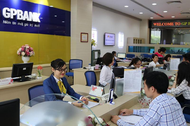 Ngân hàng GPBank làm việc từ thứ 2 đến thứ 6