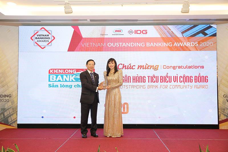 Ngân hàng Kiên Long nhận nhiều giải thưởng
