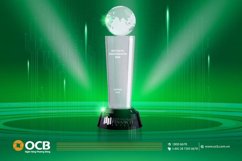 OCB vinh dự nhận nhiều giải thưởng từ các tổ chức trong và ngoài nước
