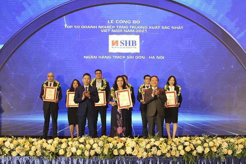 SHB được nhận định là ngân hàng uy tín khi mang về nhiều giải thưởng danh giá