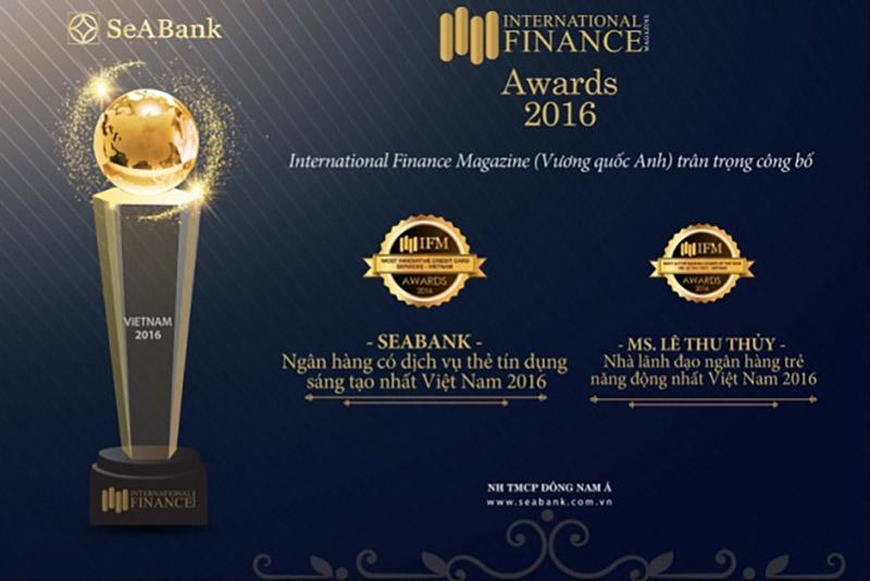 SeABank nhận nhiều giải thưởng từ các tổ chức trong nước và quốc tế