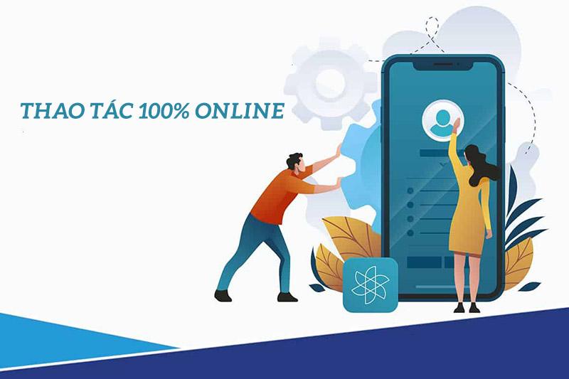 App cho vay tiền online thực hiện trên điện thoại thao tác dễ dàng